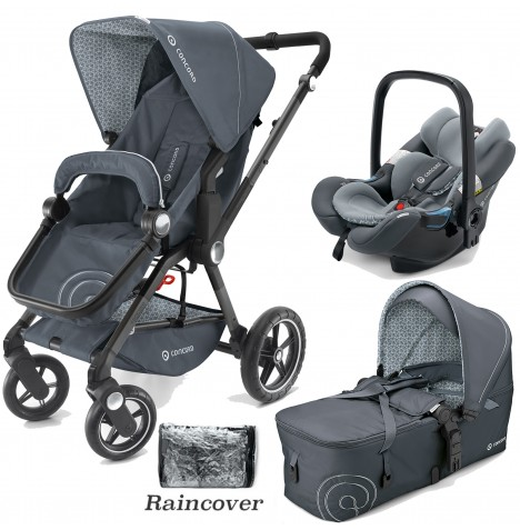 Concord Camino Mobility Set Travel System - Steel Grey