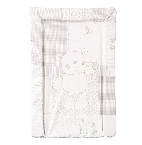 Obaby B Is For Bear Changing Mat - White