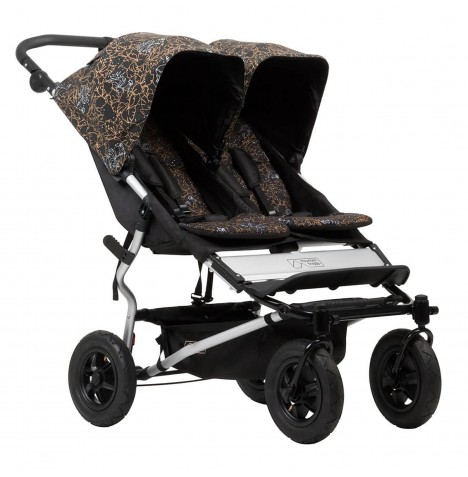 Mountain Buggy Duet V3 Twin Pushchair - Rooster
