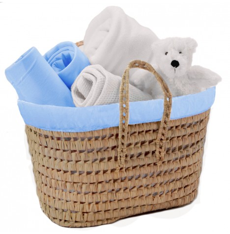 Clair De Lune My Toys Polly Nursery Basket - Blue