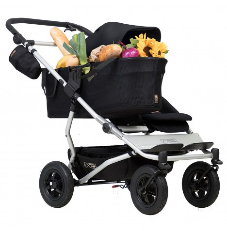 Mountain Buggy Duet V3 Single Pushchair - Black