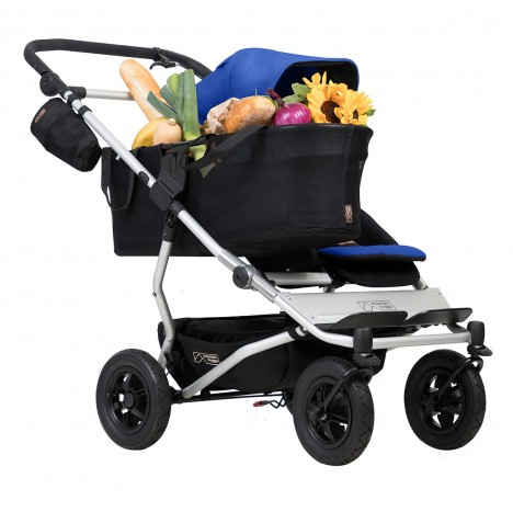 Mountain Buggy Duet V3 Single Pushchair - Marine