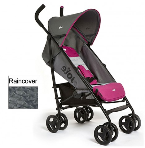 Joie Nitro Stroller - Charcoal / Pink..