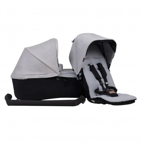 Mountain Buggy Duet V3 Family Pack - Silver