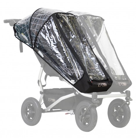 Mountain Buggy Duet V3 Single Storm Cover / Rain Cover
