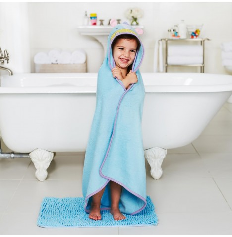 Skip Hop Hooded Towel & Wash Mitt Set - Unicorn