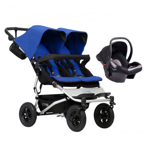 Mountain Buggy Duet V3 Travel System - Marine