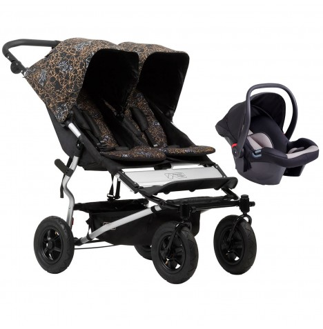Mountain Buggy Duet V3 Travel System - Rooster