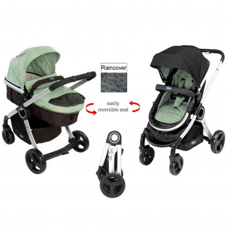 Chicco Urban Pram / Pushchair - Summer Nature