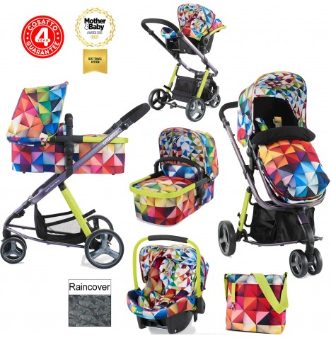 Cosatto Giggle 2 Combi 3 in 1 Travel System - Spectroluxe..