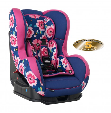 Obaby Group 0/1 Combination Car Seat - Summer Burst