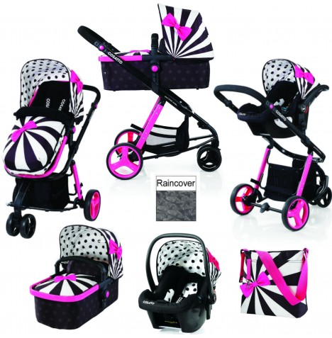 Cosatto Giggle 2 Combi 3 in 1 Travel System - Go Lightly 2