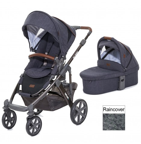 ABC Design Salsa 4 Pushchair & Carrycot - Street