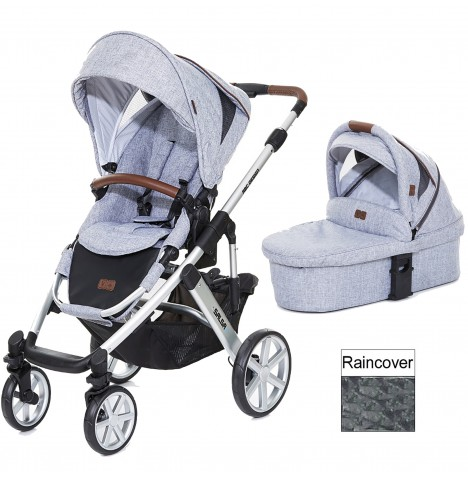ABC Design Salsa 4 Pushchair & Carrycot - Graphite Grey