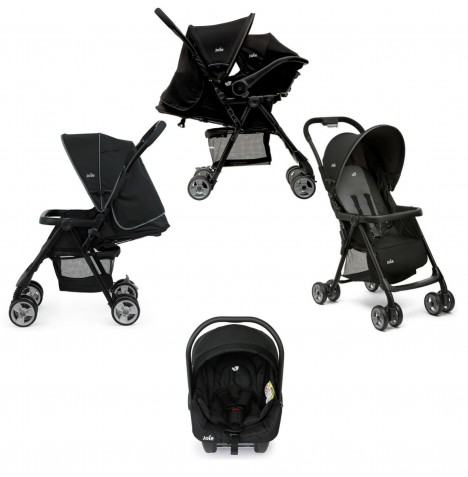 Joie Juva Pushchair Travel System - Black Ink