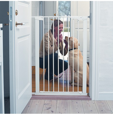 New Babydan Pet Or Baby Extra Tall Safety Stair Gate 91 Ebay