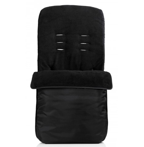 My Child Universal Fleece Footmuff - Black