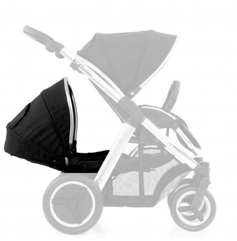 Babystyle Oyster Max 2 Lie Flat Tandem Colour Pack - Black