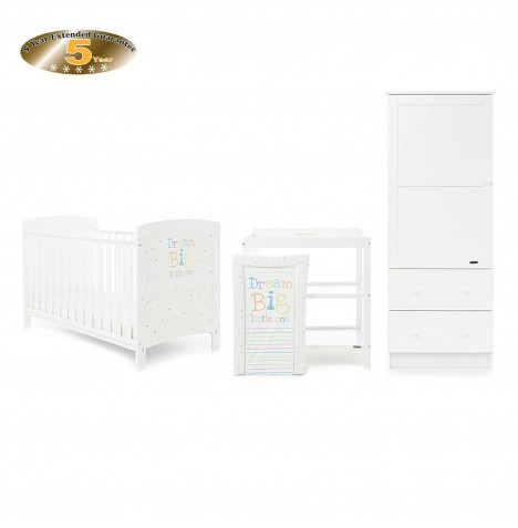 Obaby Grace Inspire 3 Piece Room Set - Dream Big Little One