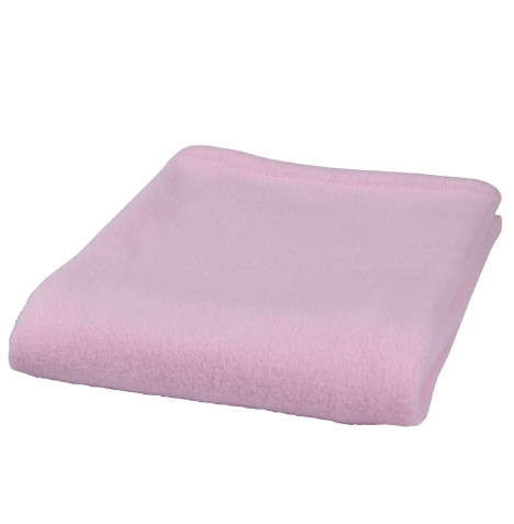 Clair De Lune Essential Fleece Cot Blanket - Pink