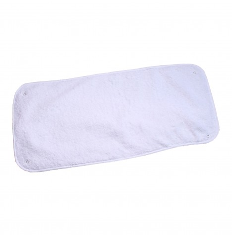 Clair De Lune Towelling Changing Mat Topper - White