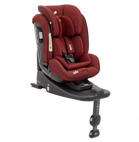 Joie Stages Isofix Group 0+,1,2 Car Seat - Cranberry..