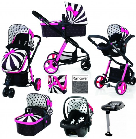 Cosatto Giggle 2 Travel System & Isofix Base - Go Lightly 2