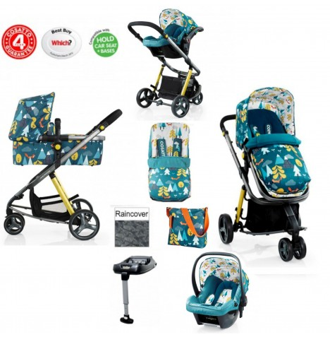 Cosatto Giggle 2 Travel System & Isofix Base - Fox Tale