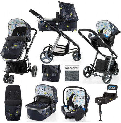 Cosatto Giggle 2 Travel System & Isofix Base - Berlin
