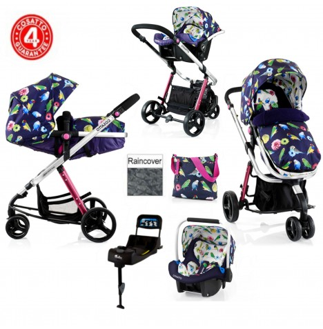 Cosatto Woop Travel System & Isofix Base - Eden
