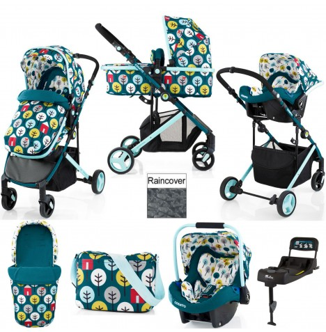 Cosatto Wish Travel System & Isofix Base - My Space