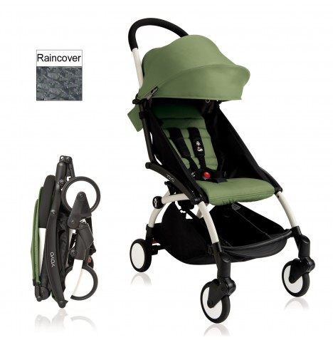 Babyzen YoYo+ Pushchair 6mth+ Package - White / Peppermint
