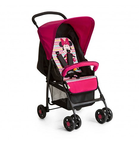 Hauck Disney Sport Pushchair - Minnie Geo Pink..