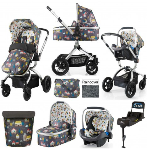 Cosatto Ooba Travel System & Isofix Base - Hygge Houses