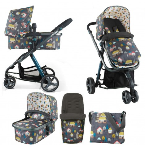 Cosatto Giggle 2 Combi 3 in 1 Pushchair - Grey Hygge House