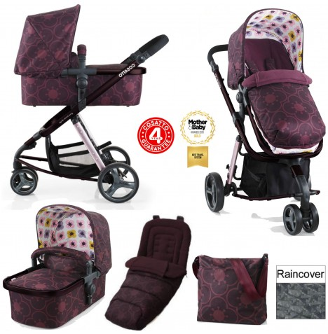Cosatto Giggle 2 Combi 3 in 1 Pushchair - Posy