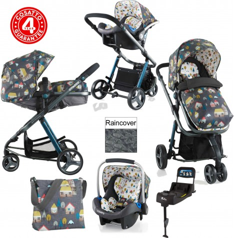 Cosatto Woop Travel System & Isofix Base - Hygge Houses