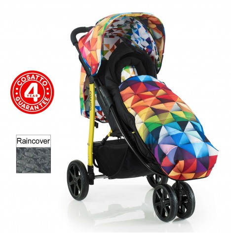 Cosatto Busy Pushchair Stroller - Spectroluxe