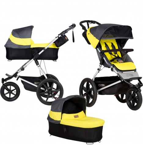 Mountain Buggy Terrain Pushchair & Carrycot - Solus