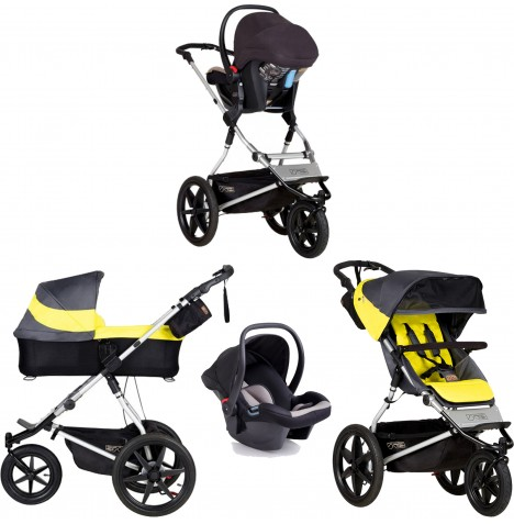 Mountain Buggy Terrain Travel System & Carrycot - Solus