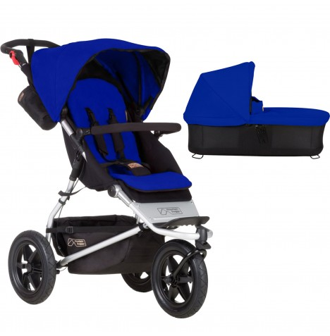 Mountain Buggy Urban Jungle Pushchair & Carrycot - Marine
