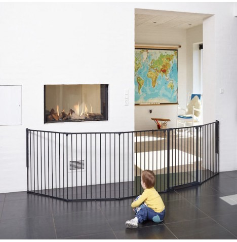 Babydan XXL Room Divider / Configure Gate - Black