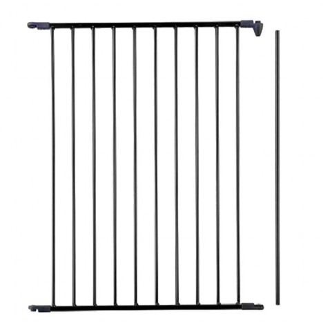 Babydan Extra Tall Configure Gate / Babyden Extension 72cm - Black