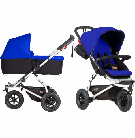 Mountain Buggy Swift Pushchair & Carrycot - Marine