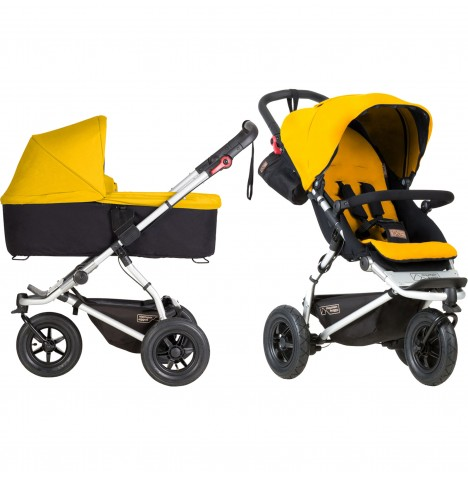 Mountain Buggy Swift Pushchair & Carrycot - Gold