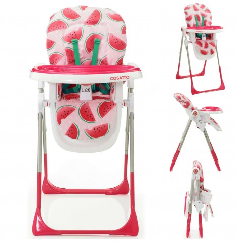 Cosatto Noodle Supa Highchair - Pink Melon Drop