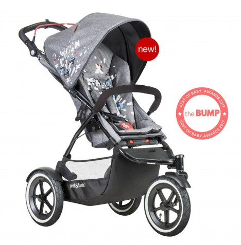Phil & Teds Sport Autostop Pushchair - Graffiti