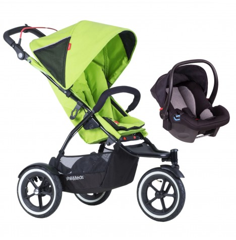 Phil & Teds Sport Autostop Travel System - Apple