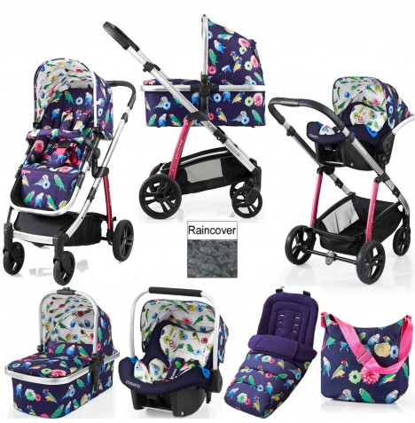 Cosatto Wow 3 in 1 Combi Travel System With Accessories - Eden