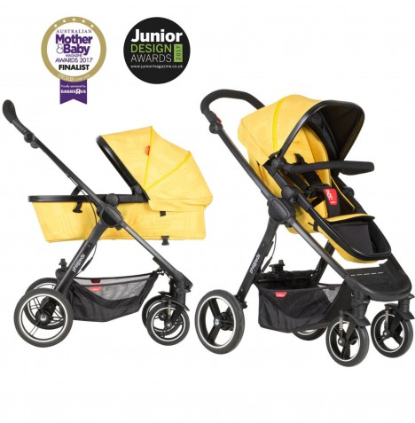 Phil & Teds Mod Pushchair / Buggy - Zest